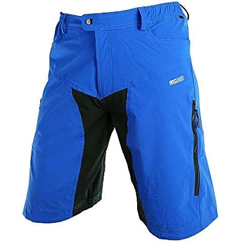 Lixada Ciclismo Pantalones Hombre Deportes Al Aire Libre Ocio Capri Corto