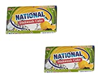National Dishwash cake(combo pack of 2-170g each)