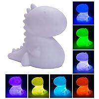 Fizz Creations Small Dinosaur Mood Light, 13 cm x 14 cm