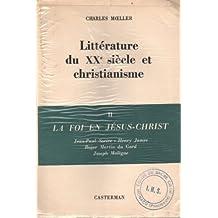 Littérature du xx siècle et christianisme. I