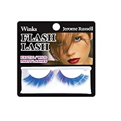 Jerome Russell Winks Flash Lash, 80s Blue