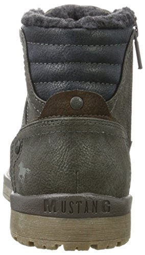 Mustang Mens 4092-610-20 Classic Boots Grigio (grigio Scuro)