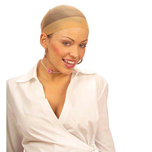 NET TOYS Haarnetz für Perücken Unterziehhaube Haarnetze Haar Netz Unterzieh Haube Haarnetze Karneval Fasching