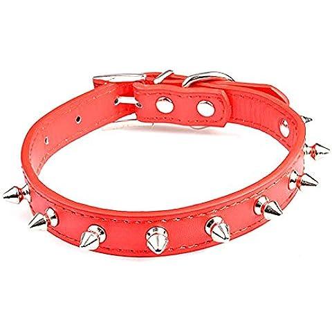 Collar de perro ajustable del animal doméstico perros y cachorros Pequeño collar