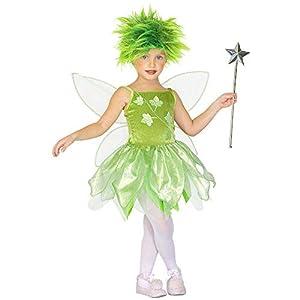 WIDMANN 43959 - Disfraz de hada para niños, multicolor, 110 cm/3 - 4 años