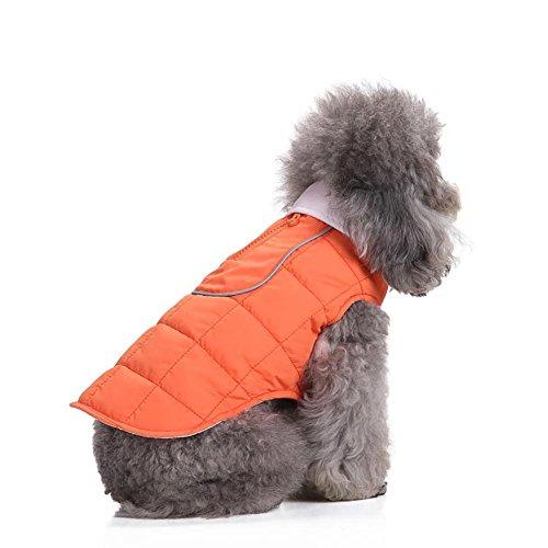 Myyxt Hund Cat Jacke Weste Warm Weiches Licht Wasserdicht Wappen Nutzen Winter Kleidung , (Riesige Kostüme Brüste /)