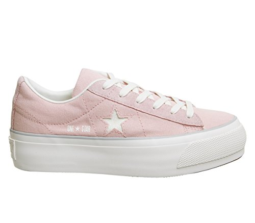 560987C One Star Platform Ox Sneakers Damen Peach 36,5 Converse