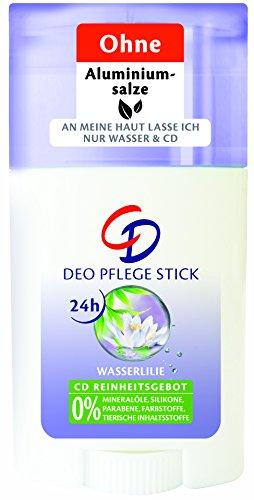 CD Deo Pflege-Stick Wasserlilie 40 ml, 6er Pack (6 x 40 ml) (Deo-pflege)