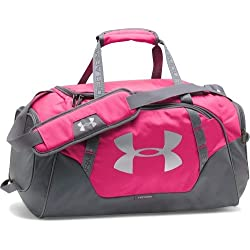 Under Armour UA Undeniable Duffle3.0 Bolsa Deportiva, Unisex Adulto, color rosa, 32 L (50.8 x 26.2 x 23.9 cm)