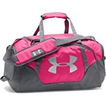 Under Armour UA Undeniable – Bolsa para viaje de 3.0, color rosa, tamaño 32