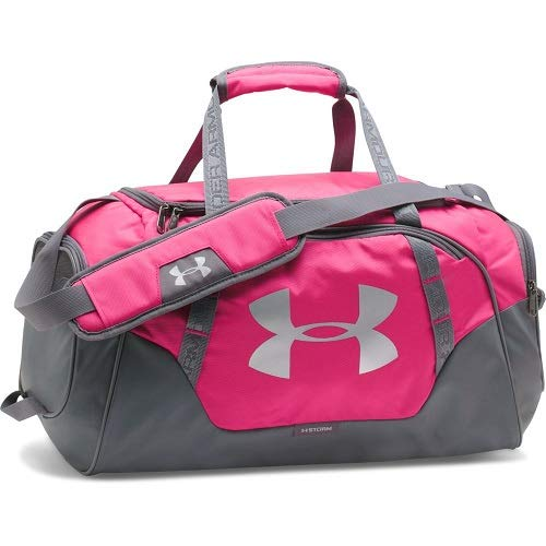 Under Armour Unisex Undeniable Duffle 3.0 Sporttasche, Rosa Tropic Pink, 32 L (50.8 x 26.2 x 23.9 cm) (Armour Sporttasche Kleine Under)