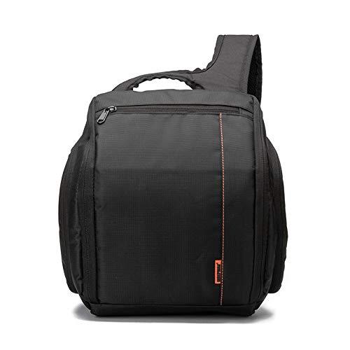 Lis-shan Kamera-Rucksack, wasserdicht, EIN Stativ kann an der Seite des Rucksacks platziert Werden für Digitale SLR-Kameras, Spiegellose Kameras, Blitze und anderes Zubehör (ohne Stativ). Orange Canon Modul