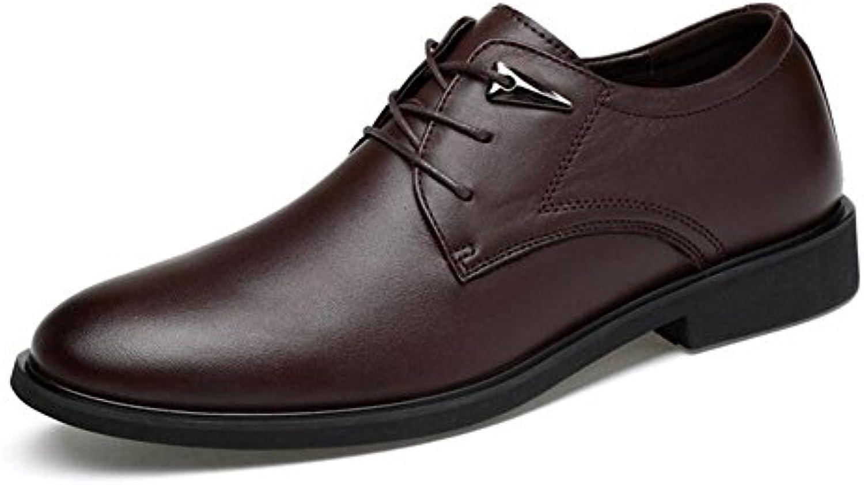 Mens Casual Zapatos Cuero Primavera Otoño Formal Business Trabajo Zapatos Confort Conducción Zapatos,B,44 -