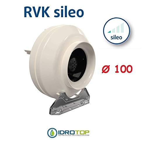 Ventilator RVK Ø100 Zentrifugalventilator für DiffuseAir Ø100 Diffusor Aria -Idroponisch