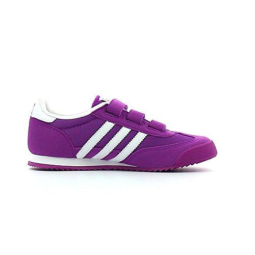 adidas Dragon Cf C, Chaussures de Sport Garçon Violet - Morado (Pursho / Ftwbla / Pursho)