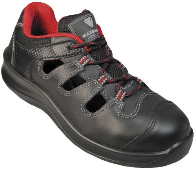 Maxguard sichheits Zapatos de clase D, D120, S1, color negro, negro