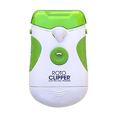 JML Roto Clipper Easy Use Electric Nail Filer & Trimmer Rotating Blades 700RPM