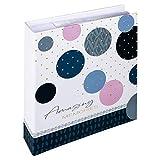 Walther Design Amazing Memories Album Foto, Blu, 200 Fotos 13x18 cm