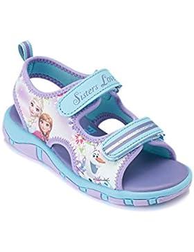 Disney El reino del hielo Chicas Sandalias - malva