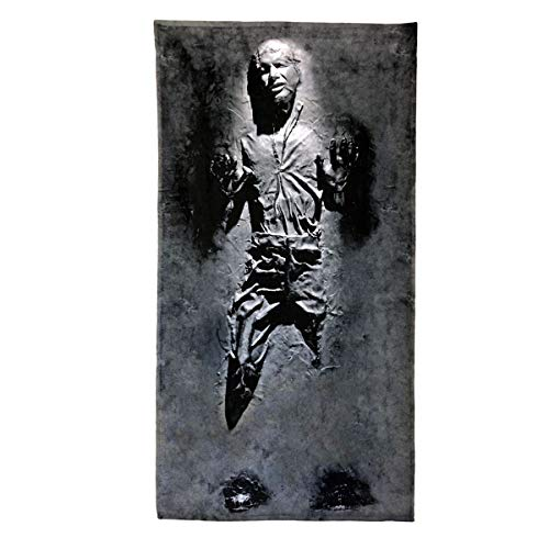 Digital Pharaoh Badetuch Handtush Han Solo IM Carbonite Filmplakat Star Wars Film (140cm x 70cm)