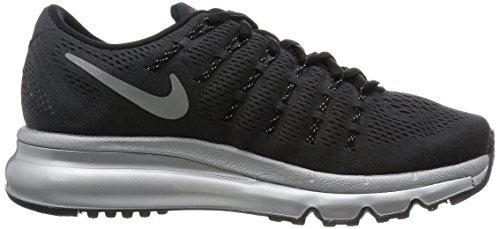 Nike Wmns Air Max 2016 Prm, Scarpe da Corsa Donna Black (Nero / Argento-Rflct Rflct SLVR)