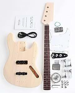 Rocktile DIY Kit de construction basse électrique style JB