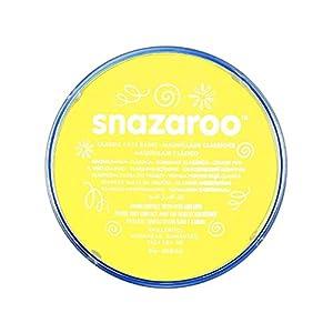 Snazaroo - Pintura facial y corporal, 18 ml, color amarillo pálido (ColArt 1118233)