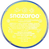Snazaroo Face and Body Paint, 18 ml - Pale Yellow (Individual Colour)