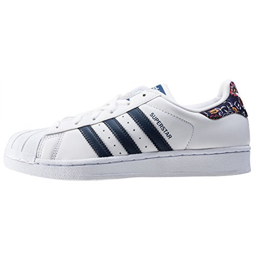 adidas Superstar W, Basket femme Multicolore - Multicolore (Ftwwht/Stdars/Ftwwht)