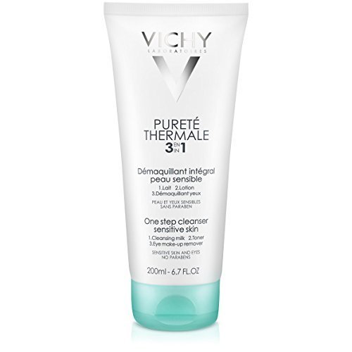Vichy Reinigungsmilch Pureté Thermale 3in1, 1er Pack (1 x 200 ml)