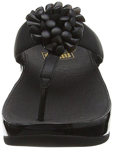 FitFlop Blossom - Sandales  Bout ouvert - Femme Noir (noir)