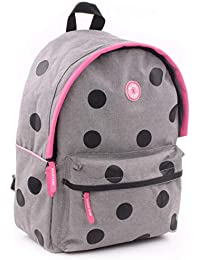 Preisvergleich für Milky Kiss Backpack All My Life Large Kinder-Rucksack, 39 cm, Grau (Grey)
