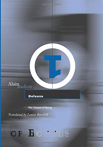 Deleuze: The Clamor of Being (Theory Out Of Bounds) por Alain Badiou