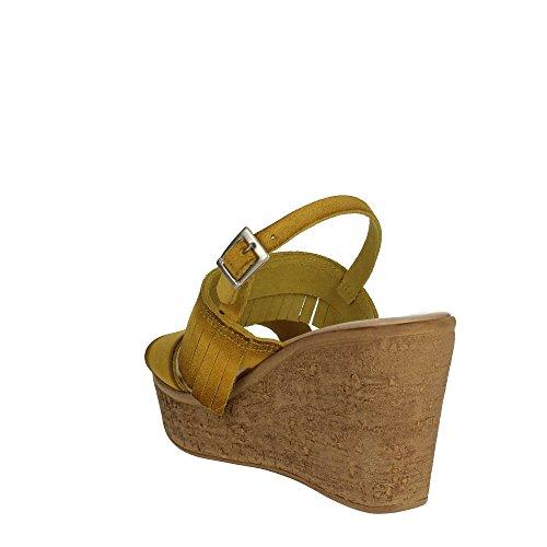 Cinzia Soft IG9687 004 Sandale Femme Jaune