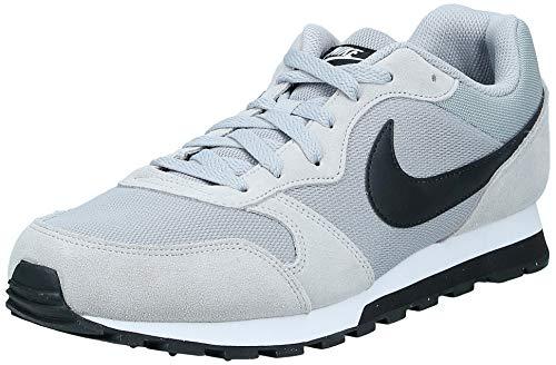Nike MD Runner 2 Zapatillas de running Hombre, Gris Wolf Grey/Black-White, 44 EU