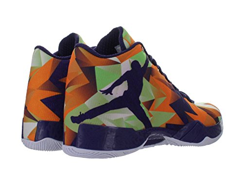 Nike air jordan xX9 harechaussures de basketball pour homme BRIGHT MNDRN/INK-WHITE-LT PSN GREEN