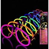 10 Gafas Luminosas Aviador Glow ENTREGA 1-3 DÍAS