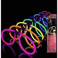 25 Gafas Glow Luminosas Aviador