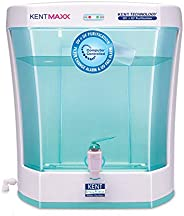 KENT Maxx 7-Litres Wall Mountable/Table Top UV + UF (White and Blue) 60-Ltr/hr Water Purifier with detachable