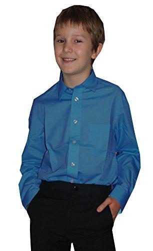 Jungs Hemd zum Kommunionanzug, Oberhemd aus Baumwollgemisch, Größe slim 134