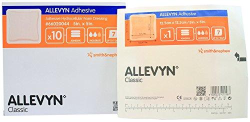 ALLEVYN FOAM ADHESIVE 5in.X5in.(10 in each BoX) -