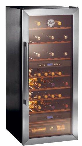 Hoover HWC 2536 DL Weinkühlschrank / G / 142 cm Höhe / 313 kWh/Jahr /  205 L Kühlteil
