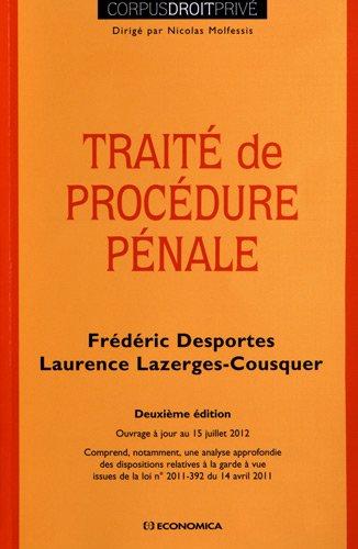 Traité de procédure pénale, 2e éd.