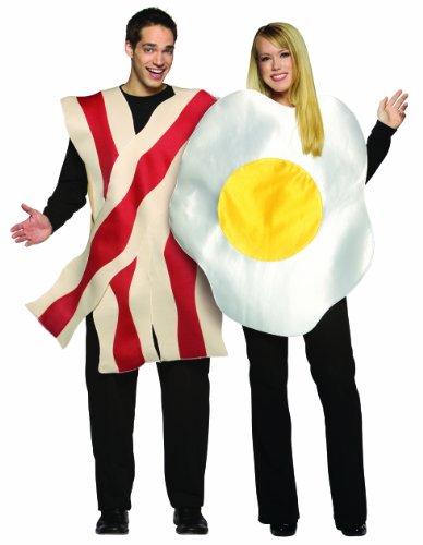 Ei and Speck Paarkostüm für Erwachsene (Kostüm Ei Men's)