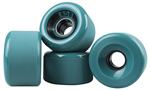 AOB Longboard Rollen Banshee 70mm/83a (Blau) -