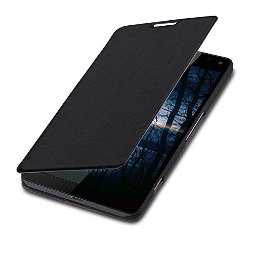 kwmobile Microsoft Lumia 950 XL Hülle - Flip Handy Schutzhülle - Cover Case Handyhülle für Microsoft Lumia 950 XL