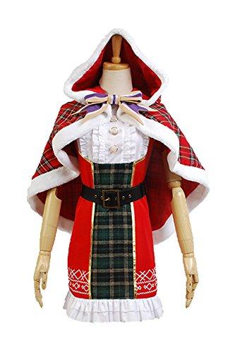LoveLive! Nozomi Tojo Weihnachten Uniform Cosplay Kostüm Damen XL