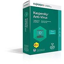 Kaspersky Antivirus 2017 - 3 plus 1 User