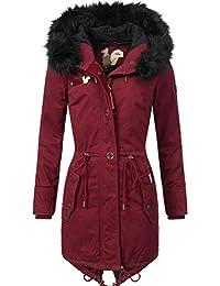 Khujo Damen Mantel Wintermantel Winterparka YM-Dorota 4 Farben + Camouflage XS-XXL