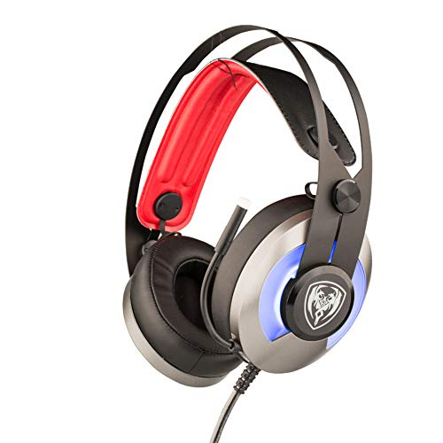 HUAXING Logitech G231 Gaming Headset für Xbox One, PS4, Switch und PC (Stereo mit Mikrofon) Logitech Portable Headset